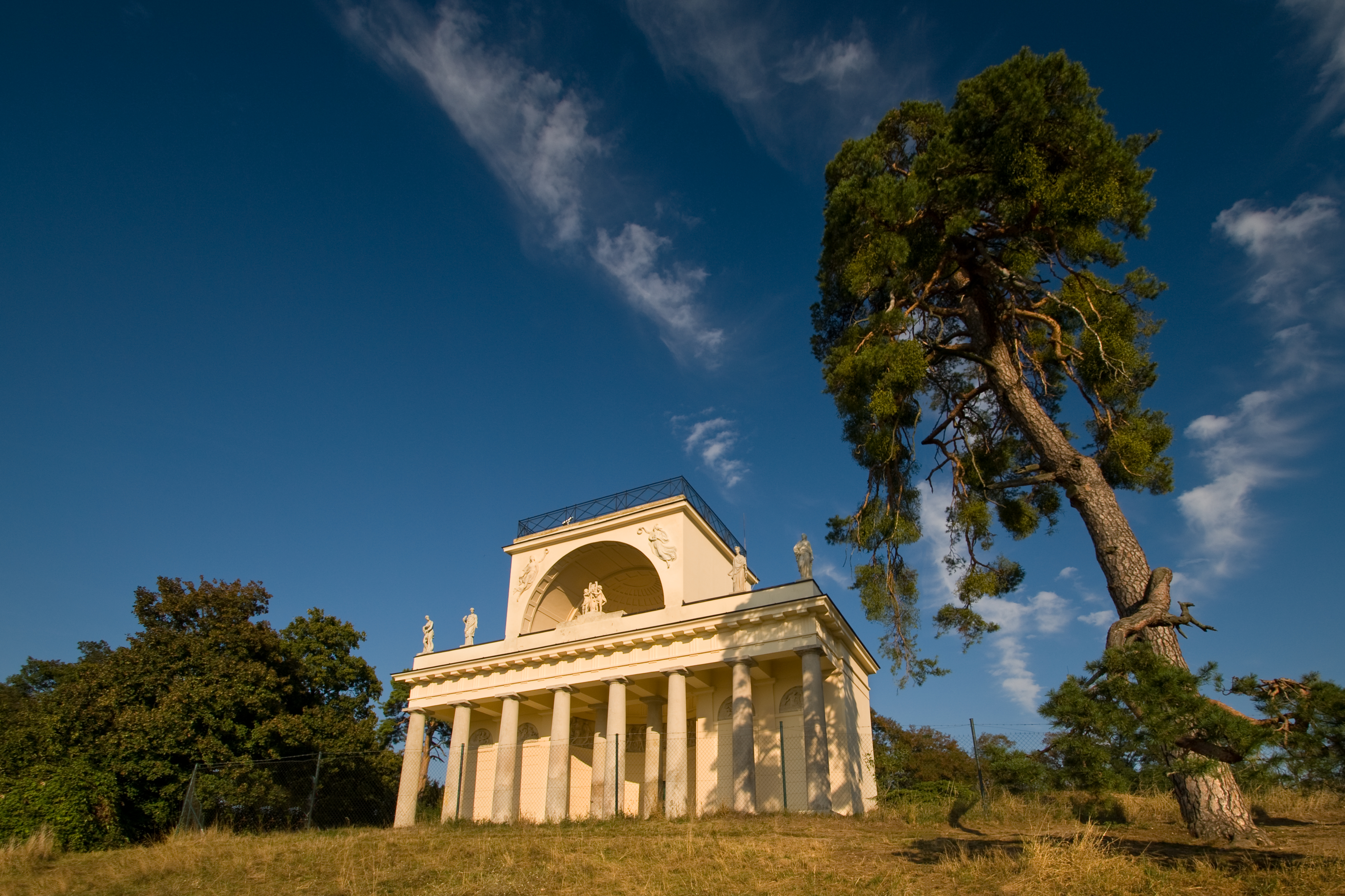 Temple of Apollo in the Lednice-Valtice Cultural Landscape