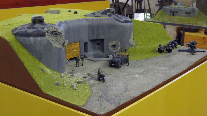 Hanička Artillery Fort - introductory exhibition