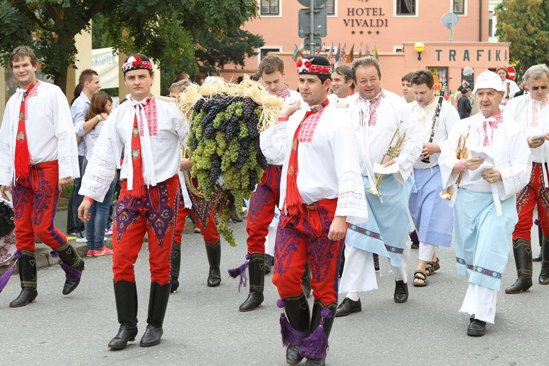 A three-day celebration of wine in the charming town of Mikulov in South Moravia.