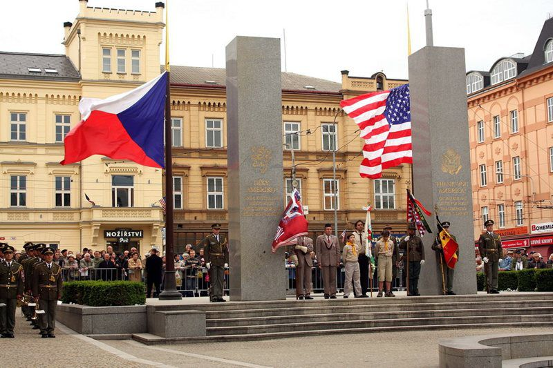 The annual celebration of the end of World War II and the liberation of Pilsen by the United States Army.
