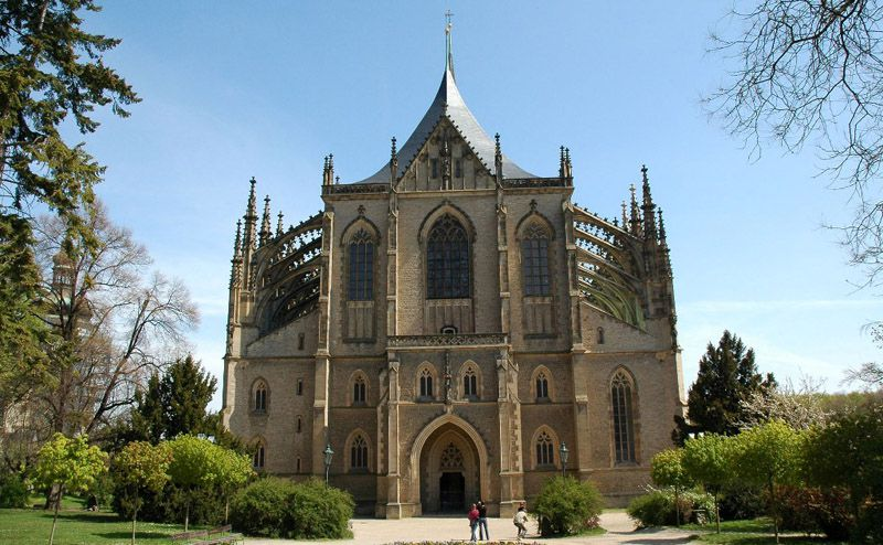 Kutná Hora - Church of St. Barbara