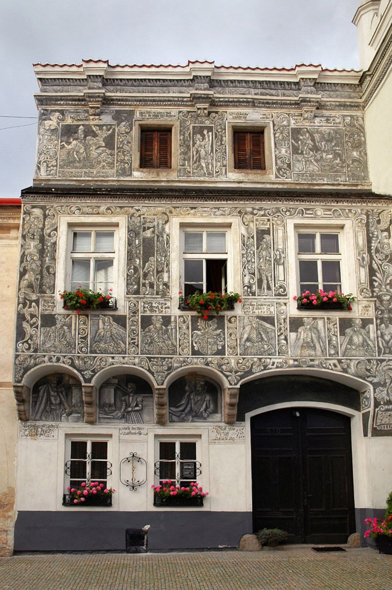 Slavonice - house No. 520