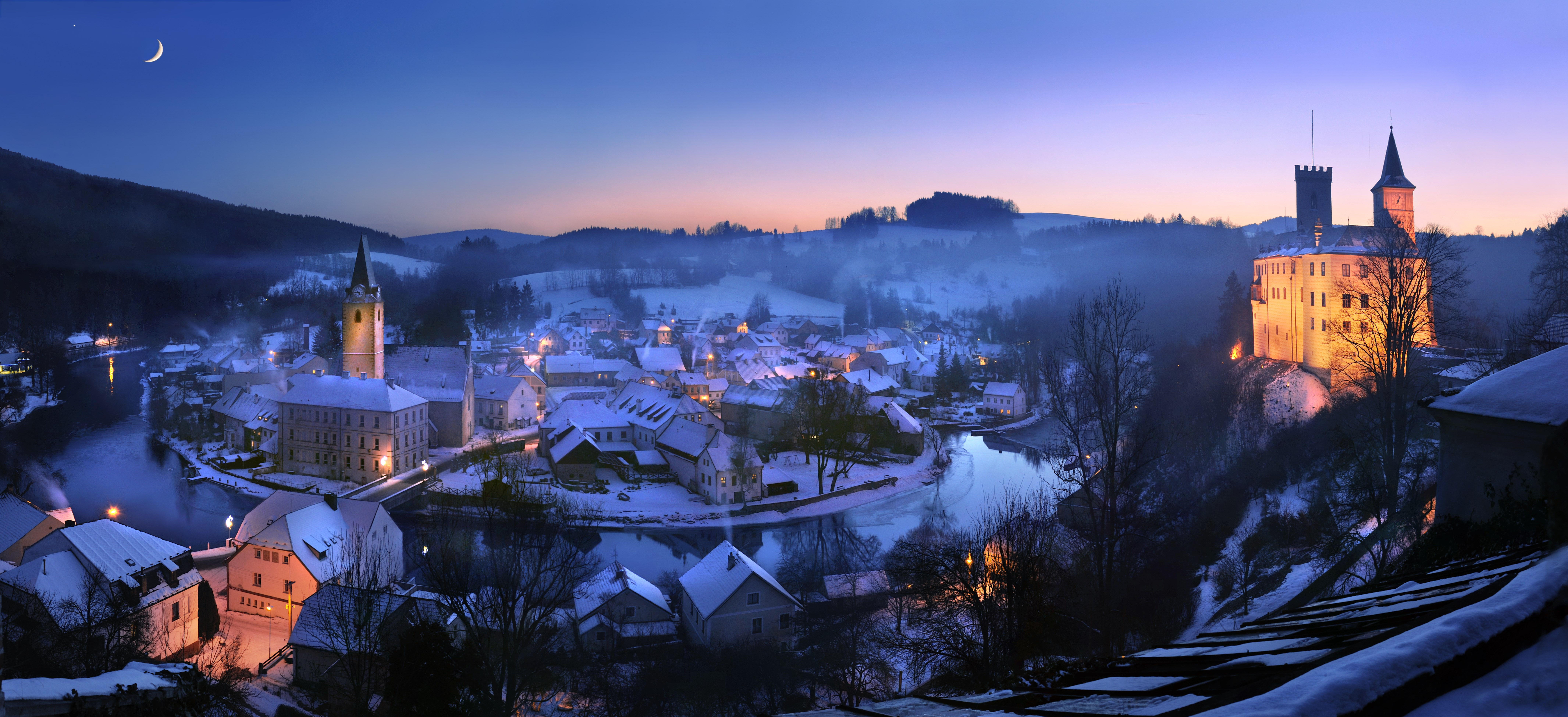 Czech Republic offers the right winter mood