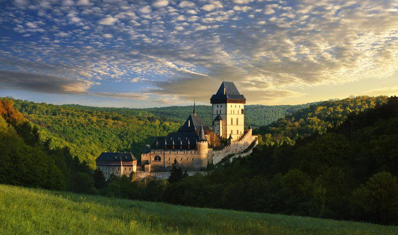 Set out for the most-visited castle in the Czech Republic!
