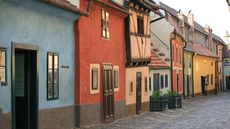 Prague Castle - Golden Lane