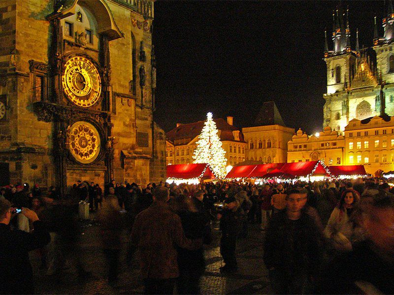 The largest Christmas markets in the Czech Republic with a charming atmosphere.