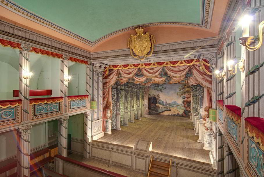 Baroque Theatre in Litomyšl