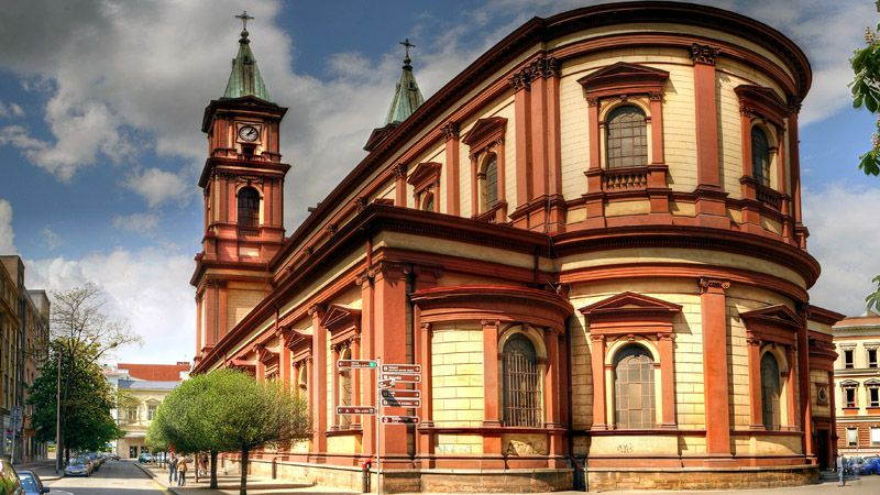Ostrava - Cathedral of the Divine Saviour