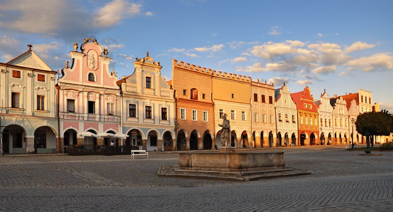 The Zachariáš of Hradec Square in Telč