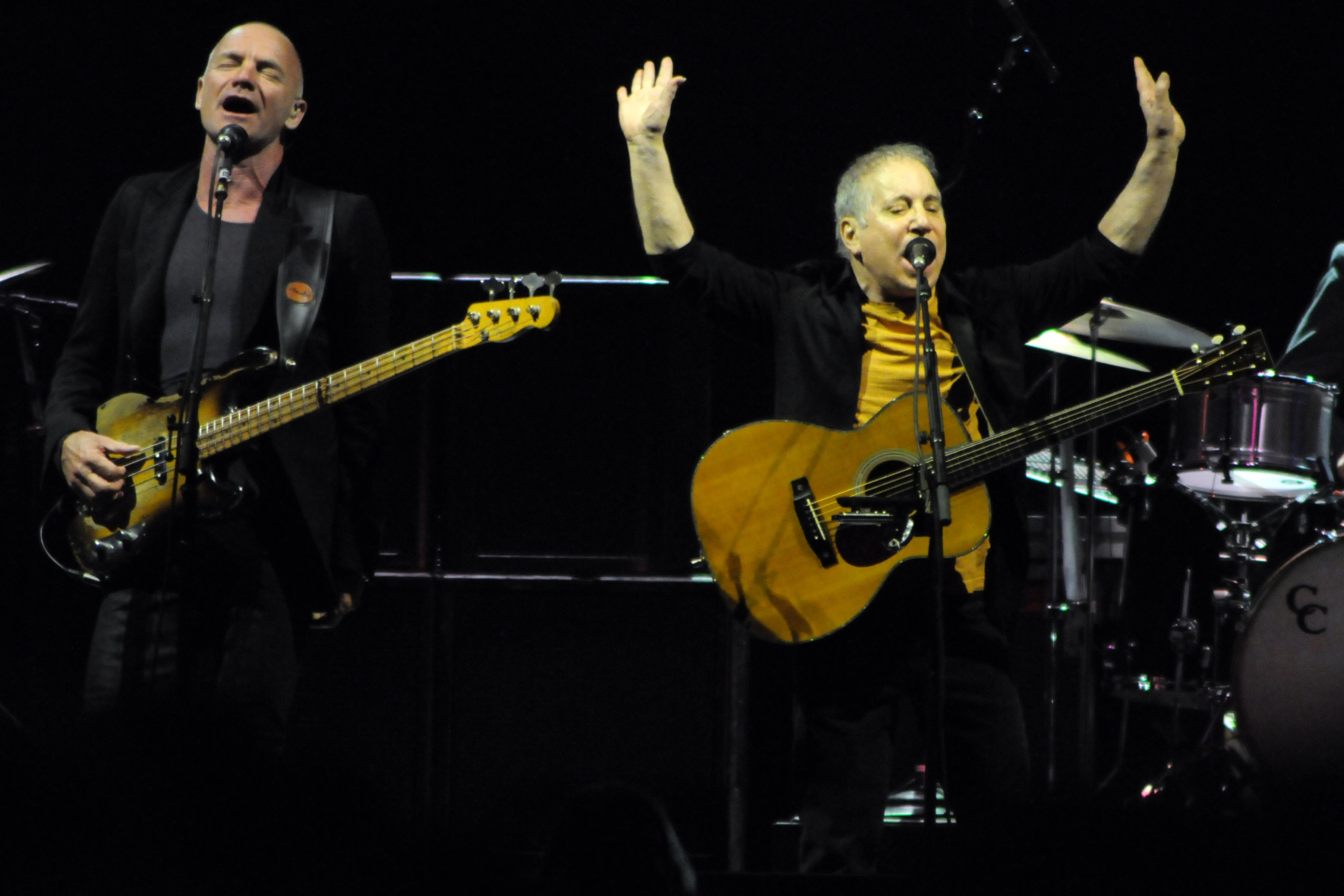 Paul Simon and Sting will perform as part of their joint tour On Stage March 14, 2015 at the O2 Arena!