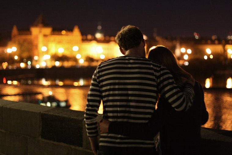 Prague romantic