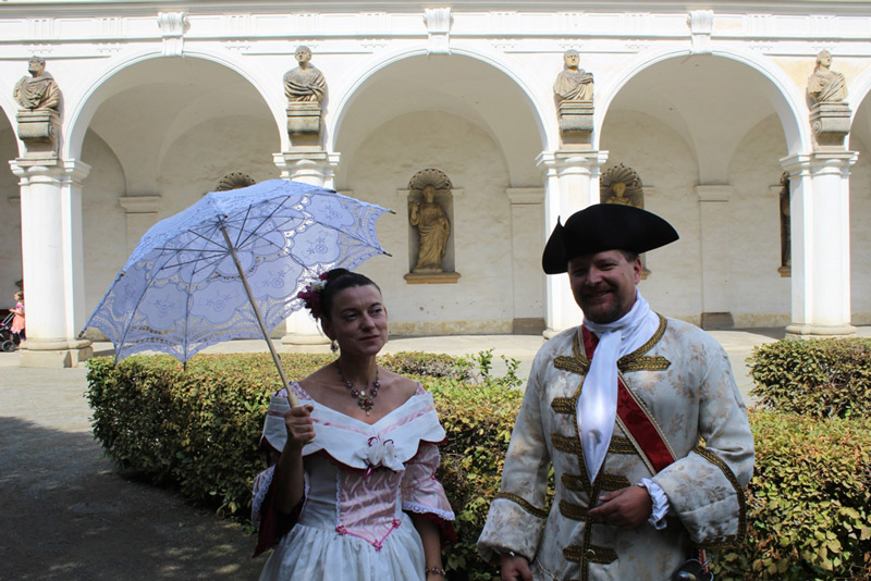 Festival of baroque culture in Flower Garden of Kroměříž will again enchant visitors with a programme full of historical entertainment.