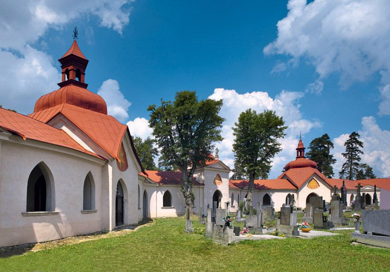 Church of St. John of Nepomuk at Zelená hora