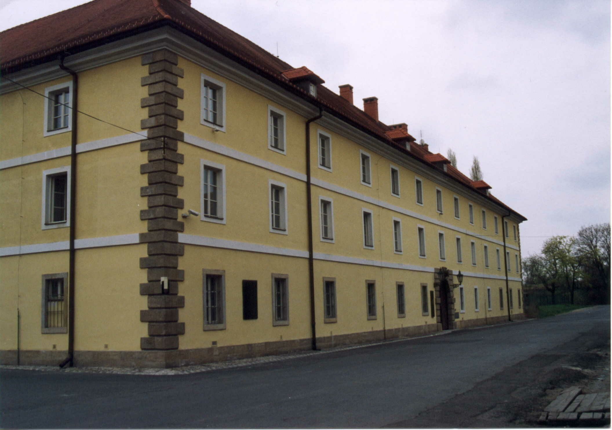 The Magdeburg Barracks in Terezín