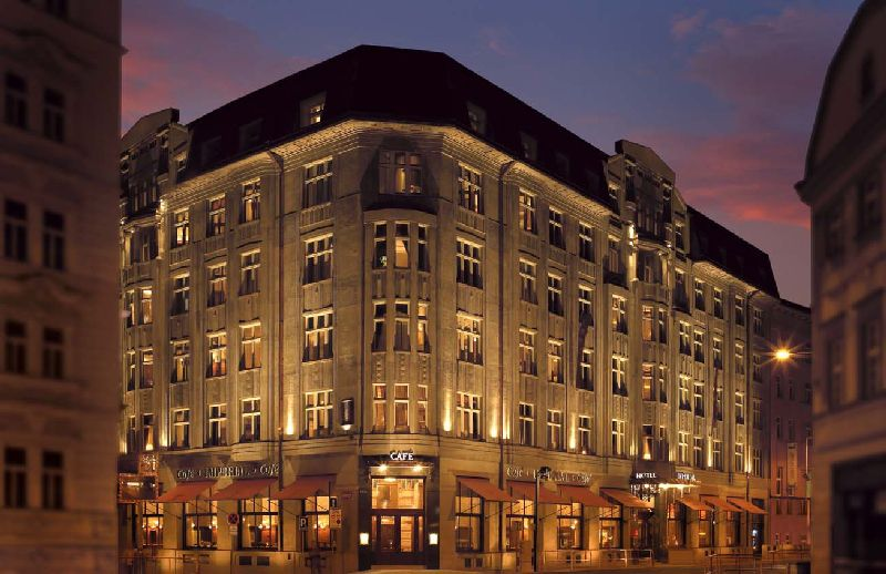 Art Deco Imperial Hotel in Prag