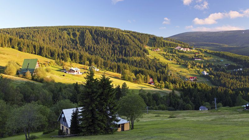 Krkonoše Mountains