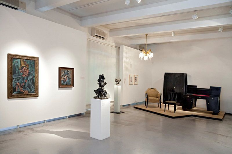 Exhibition of 20th- and 21st-century art in the Veletržní Palace