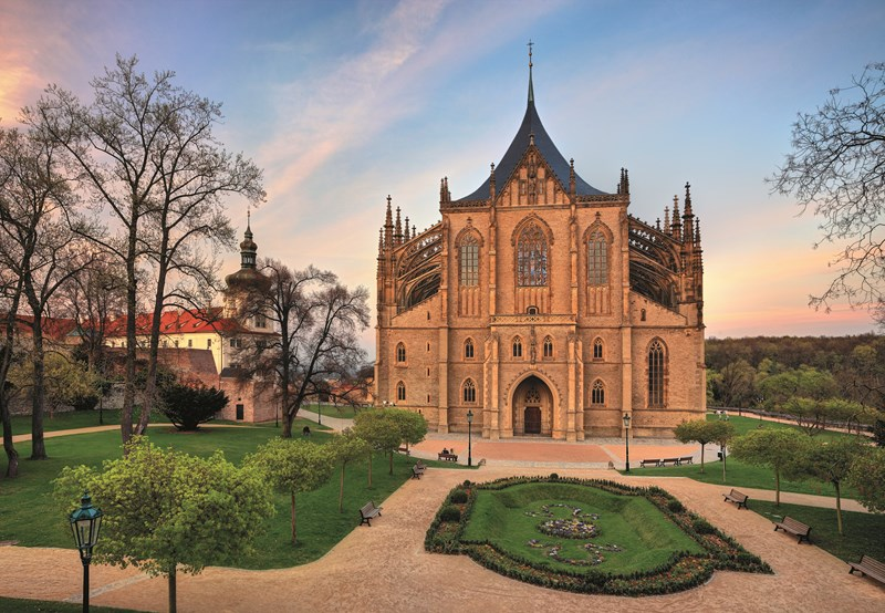The charming town of Kutná Hora in Central Bohemia officially begins its season in April.