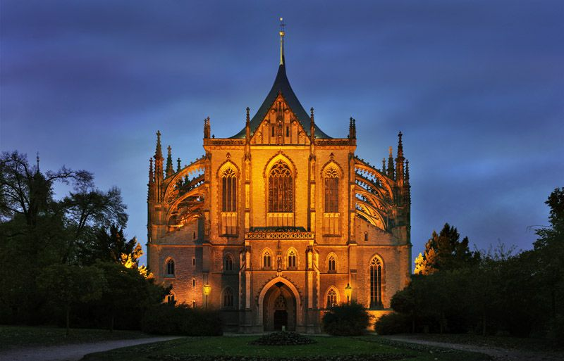 Church of St. Barbara in Kutná Hora