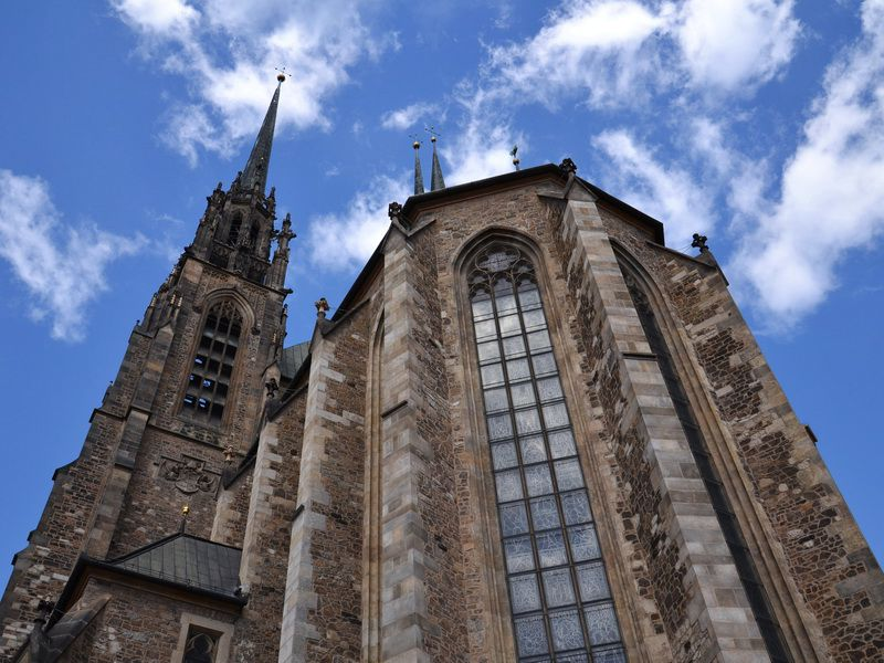 St. Peter and Paul's Cathedral in Brno