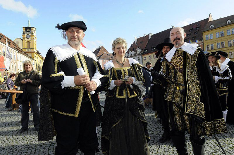 Another year of grand historical celebrations with the arrival of Albrecht von Wallenstein to Cheb.
