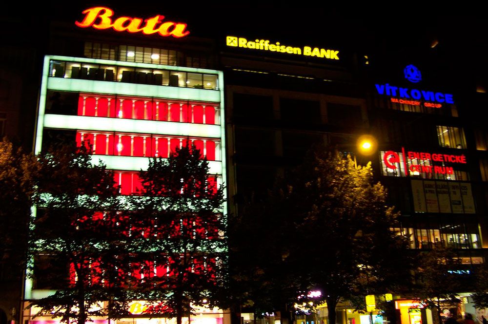 Baťa department store