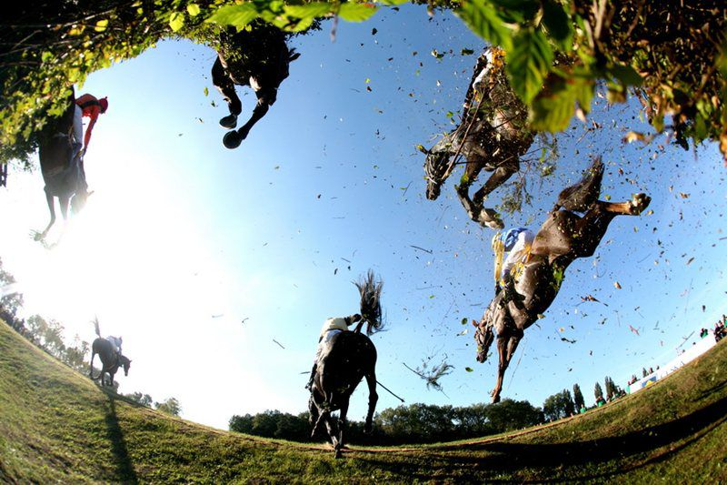 The most difficult and oldest cross country horse race takes place every year in Europe in Pardubice.