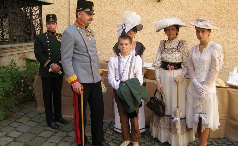 The Chambers of Konopiště Castle will come alive again, – Franz Ferdinand of Austria will visit his summer residence with his whole family.