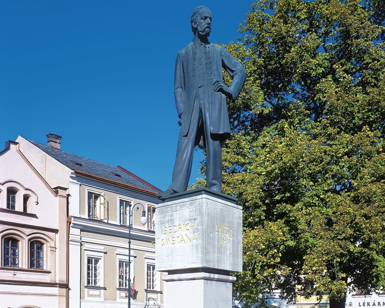 Monument to Bedřich Smetana