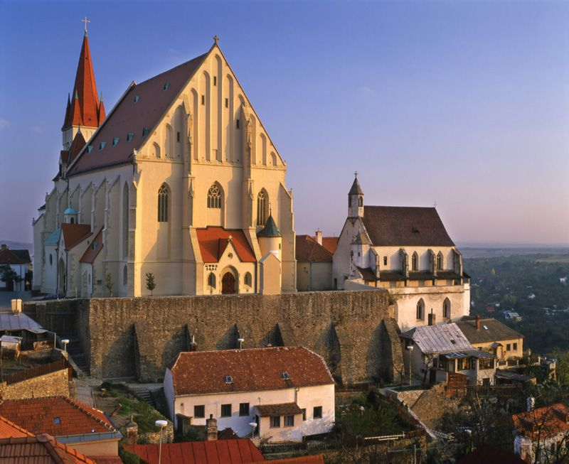 Znojmo - Church of St. Nicholas
