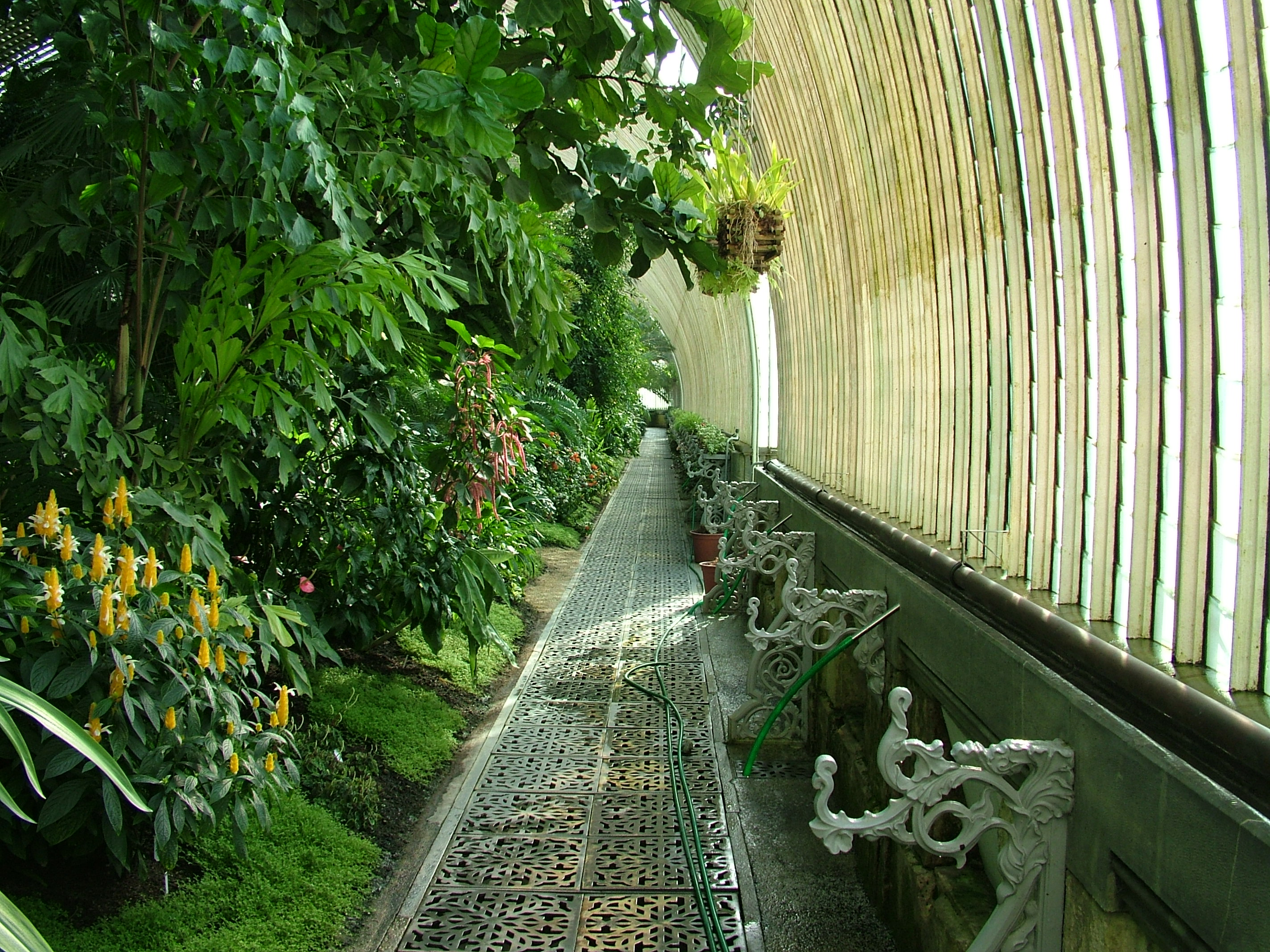 Chateau greenhouse in the Lednice-Valtice Cultural Landscape