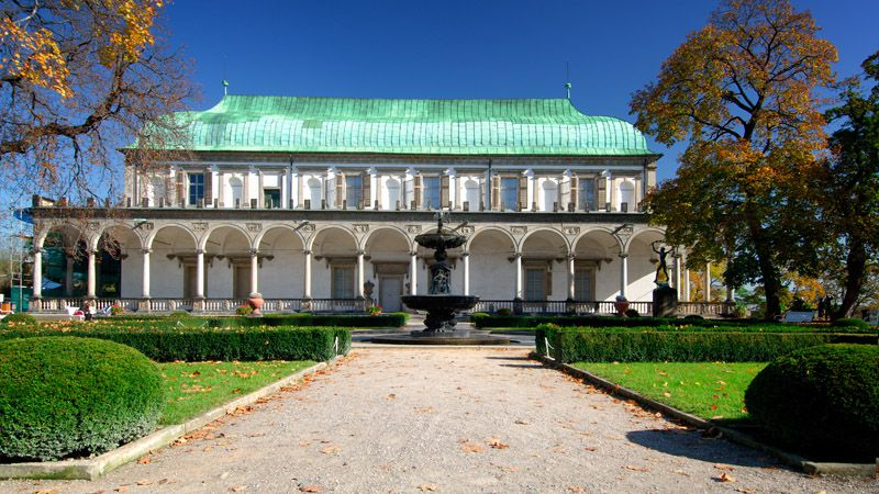 Prague Castle - Queen Anne's Summer Palace