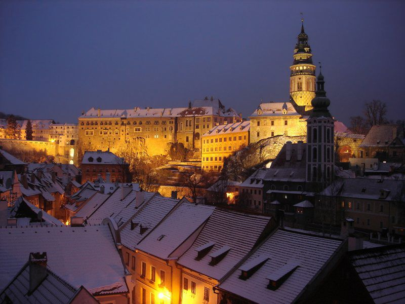 Let yourself be charmed by the beautiful Christmas atmosphere of the city of Český Krumlov!