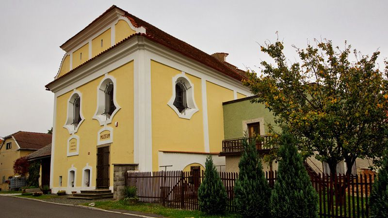 Kasejovice - la synagogue