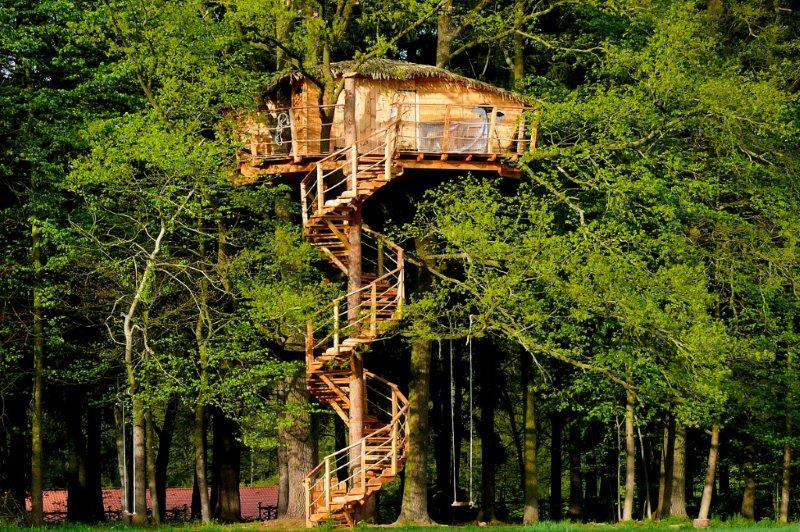 Hotels Are a Bore, but in the Czech Republic You can Stay in a Barrel or Up a Tree
