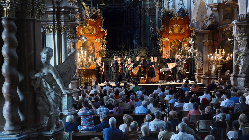 A music festival that encompasses Czech, Bavarian and Saxon cities every summer
