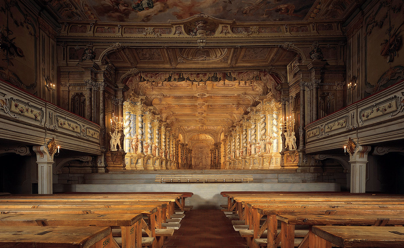 Baroque theatre in Krumlov