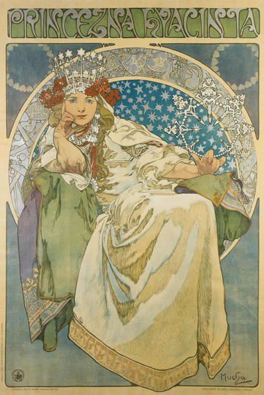 Czech Republic Alfons Mucha S Posters Exhibition In