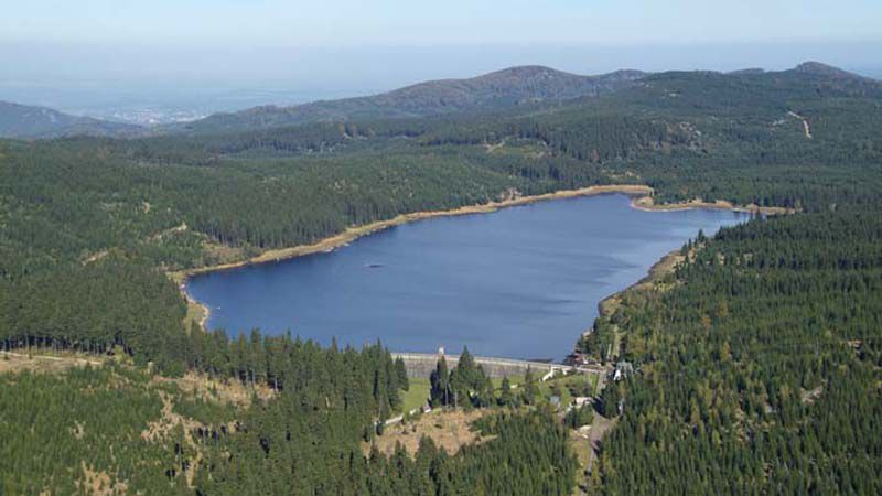 Jizera Mountains - Bedřichov Reservoir