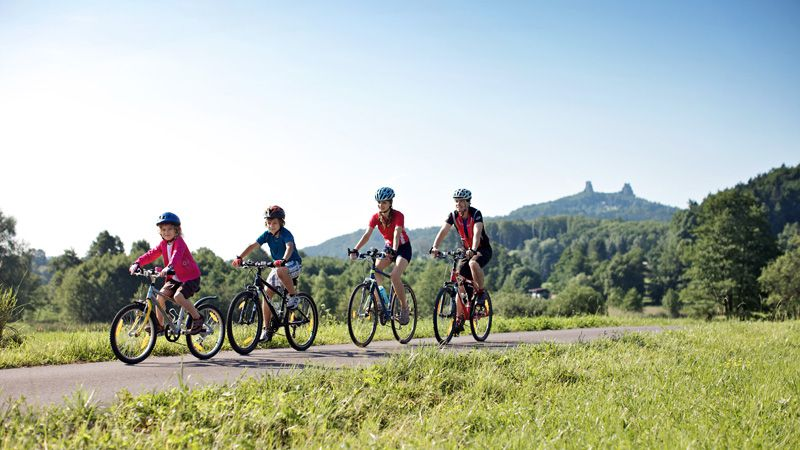 Cycling in Bohemian Paradise