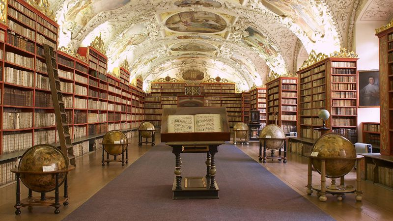 Strahov Monastery - Theological Hall
