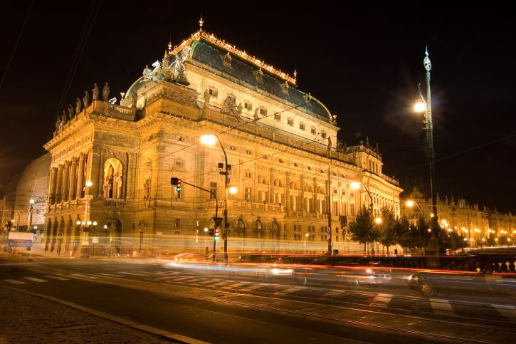 Top theatres in Prague