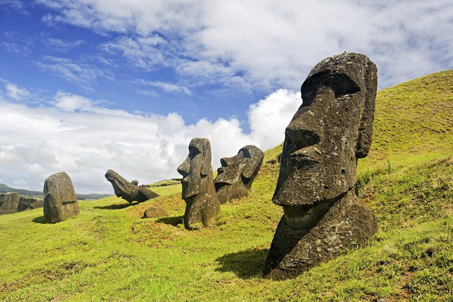 Tourfilm That This Year Will Shed Some Light on the Mysteries of Easter Island Starts Next Week.