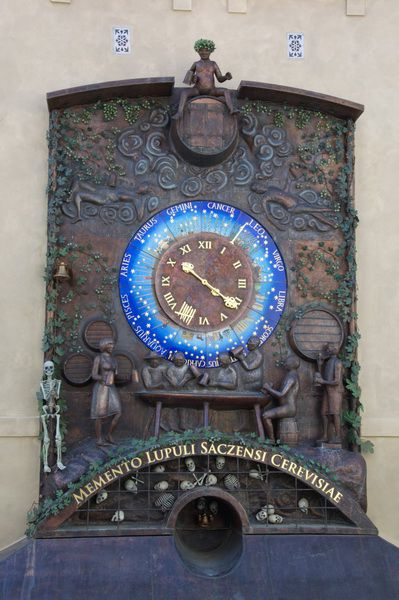 Žatec - Astronomical Hop Clock