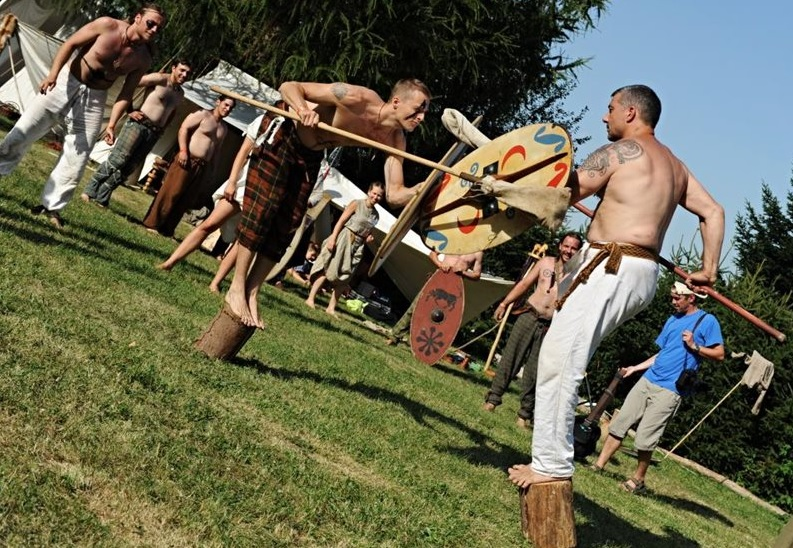 Celtic festival, a traditional celebration of summer, held in Nasavrky in Chrudim in Eastern Bohemia.