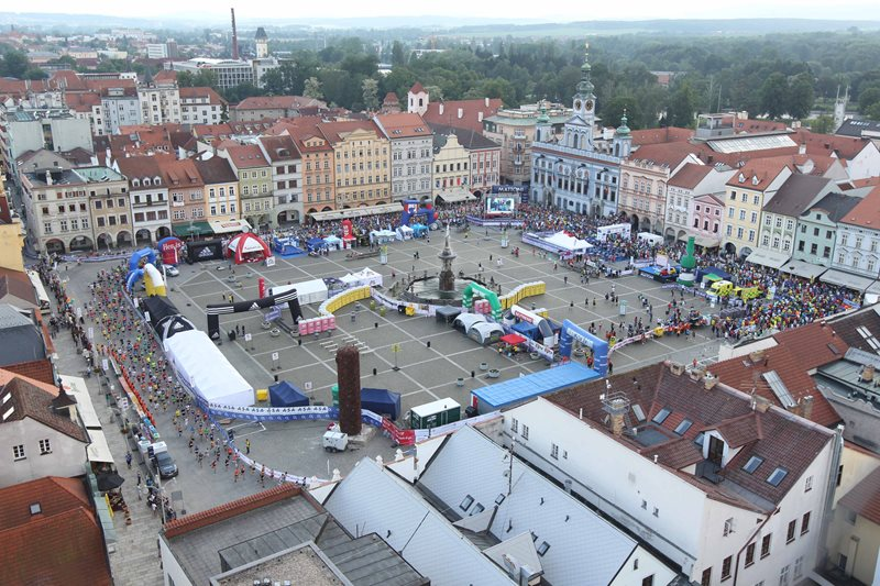 Come to České Budějovice to run the traditional half-marathon!