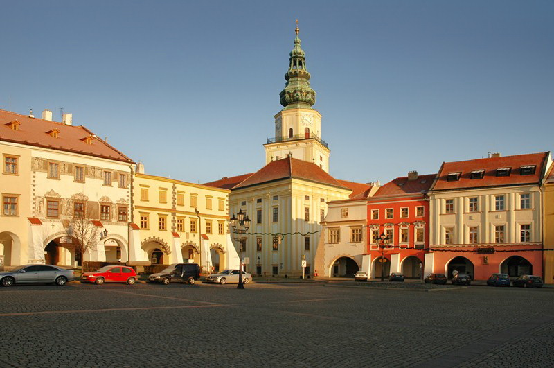 Archbishop's Chateau in Kroměříž