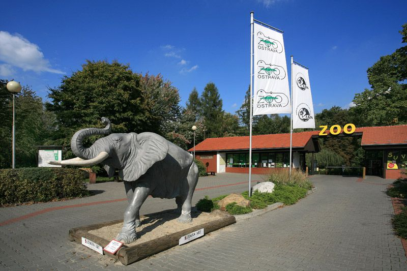 Ostrava Zoo and Dinopark