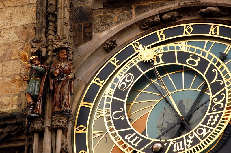 Prague - Astronomical Clock on the Old Town Square