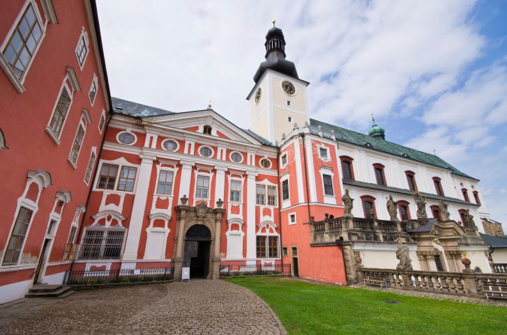 Benedictine monastery in Broumov